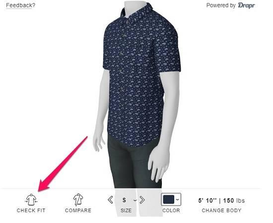 types of mens shirts