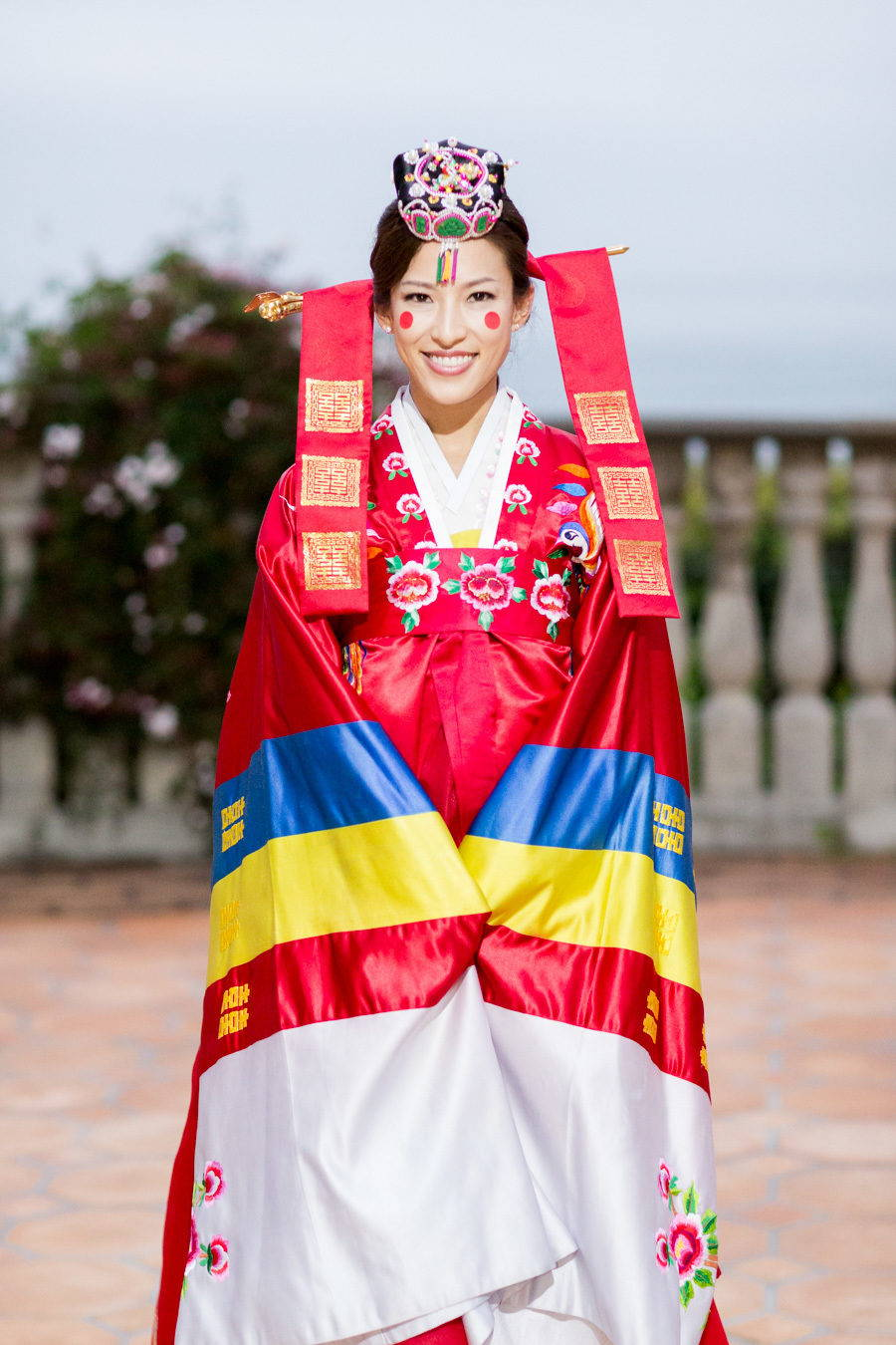 KOREAN TRADITIONAL PAEBAEK TEA CEREMONY BRIDE OUTFIT