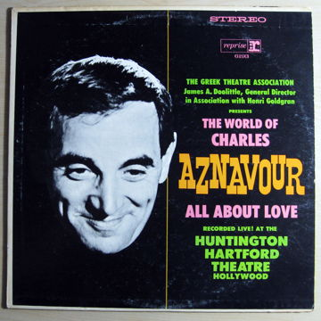 The World Of Charles Aznavour All About Love