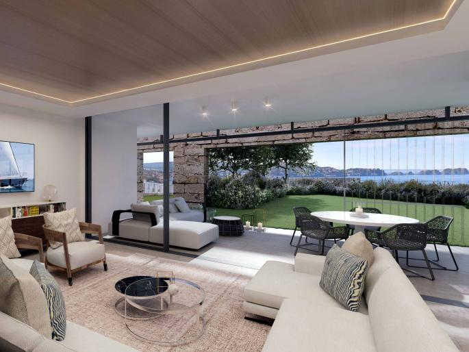 Apartment in new residential project in Paguera