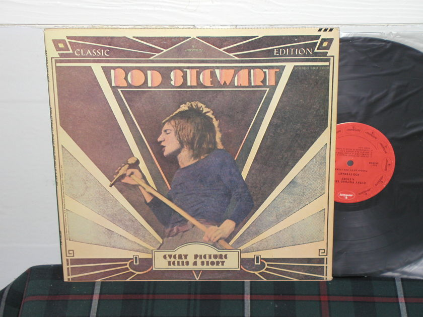 Rod Stewart - Every Picture Tells (Pics) Mercury red label/intact cover