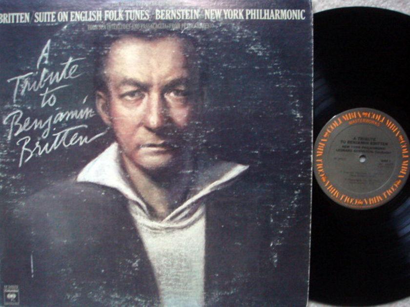 Columbia / BERNSTEIN, - Britten Suite on English Folk Tunes, NM!
