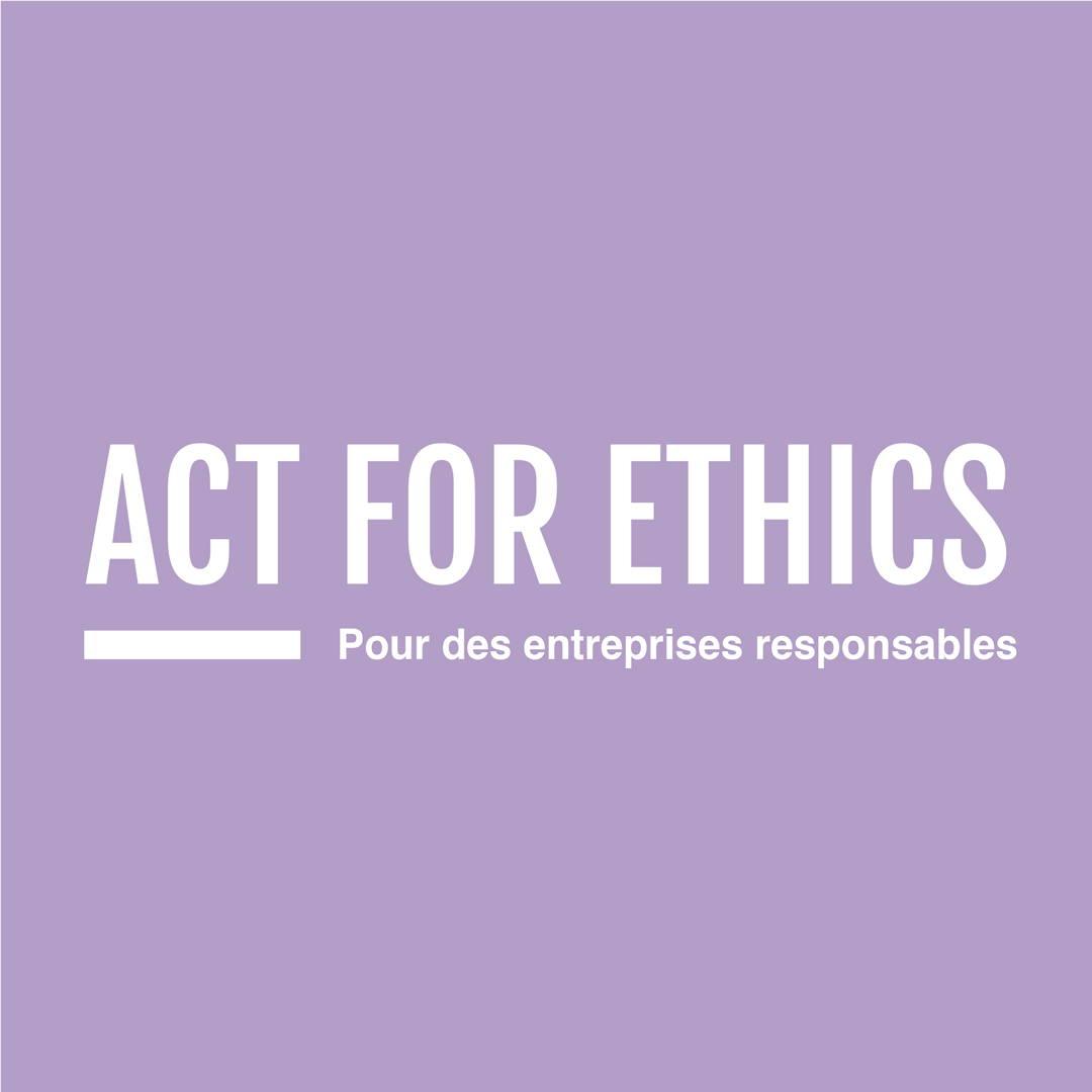 act for ethics, mouvement social et solidaire, commerce équitable, indépendance des femmes , entreprises responsables