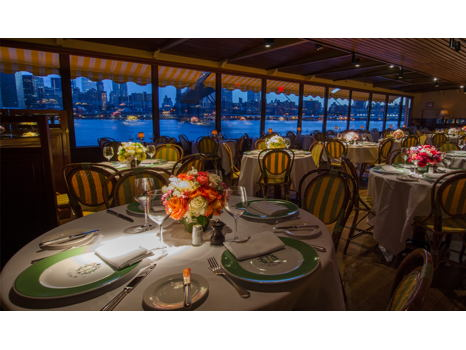 Dinner at The River Cafe with NY Times Food Editor Sam Sifton