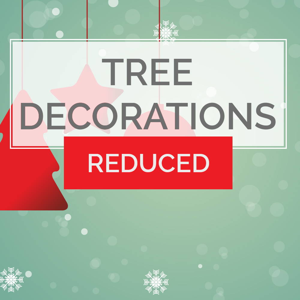 Tree Decorations Reduced