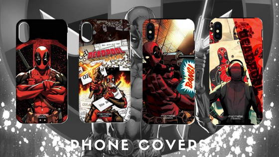 Deadpool Movie and Comic Phone Cases for Iphone, Acer, Sony, Lenovo, Motorola, One Plus, Mi, Redmi, Yu, free shipping across India
