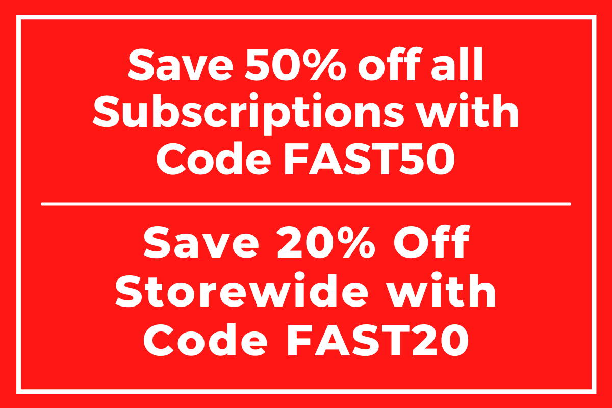 Subscription 50% off and 20% storewide