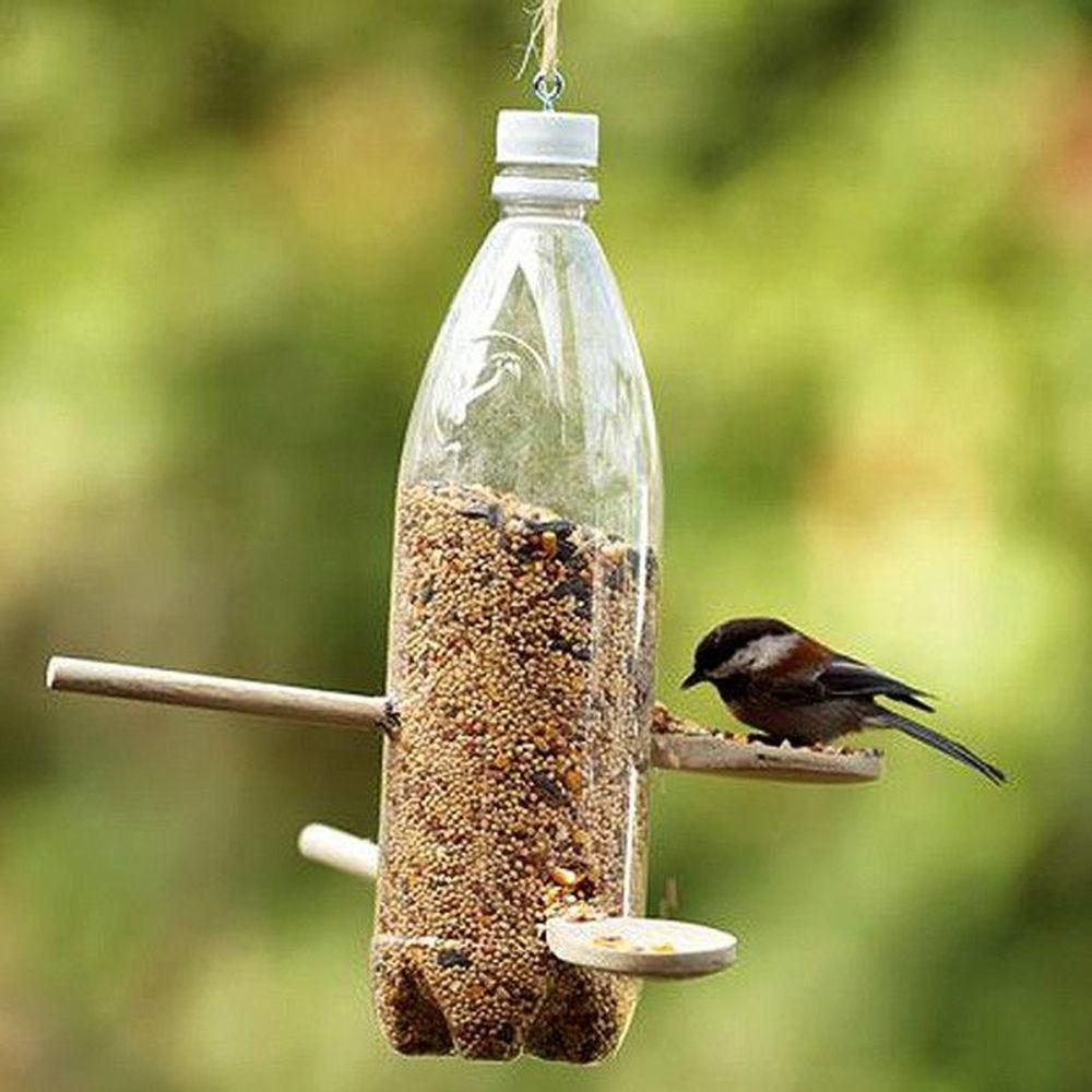 Plastic Bottle Birdfeeder