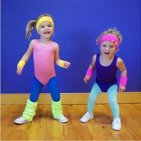aerobics instructor 80s halloween costume