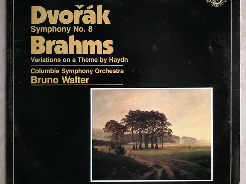 CBS   BRUNO WALTER/DVORAK - Symphony No. 8/BRAHMS Variations on a Theme by Haydn / Promo copy / NM