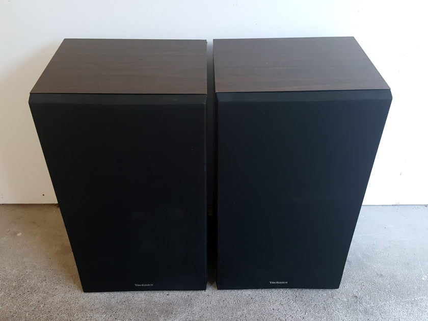 "Technics  SB-X700 3-Way Stereo Speakers 12"" Woofer Honeycomb Circa 1983 Will S"