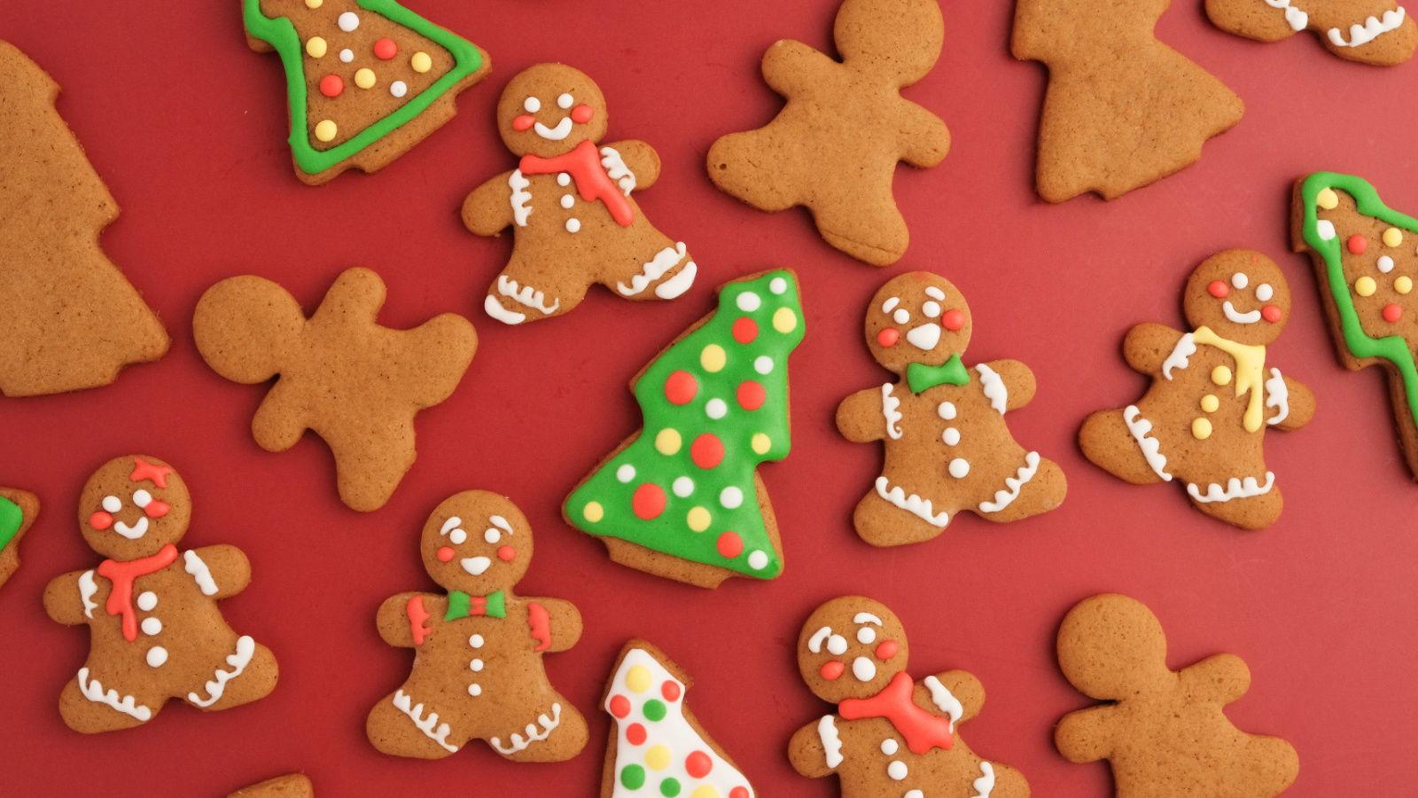 Mild Gingerbread Cookies