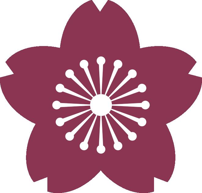 mid tone cherry blossom logo