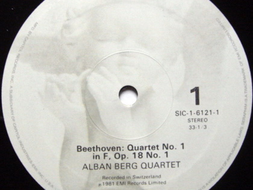 EMI Angel Seraphim / ALBAN BERG QT, - Beethoven The Early Quartets, NM, 3LP Box Set!