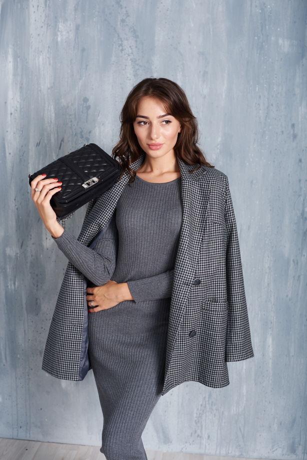 Пиджак серый oversize