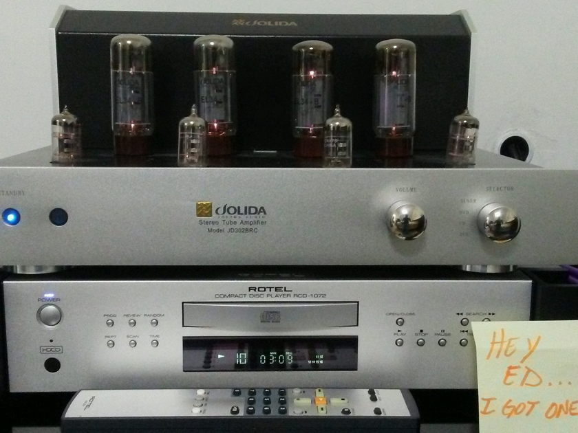 Jolida JD-302b Integrated Tube Amplifier with Remote