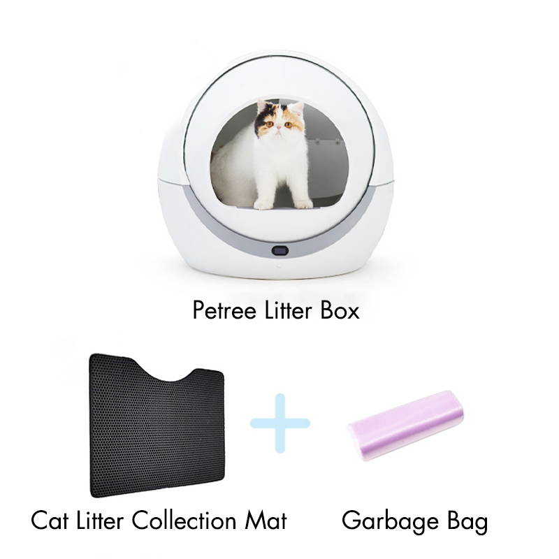 Petree Self Cleaning Litter Box