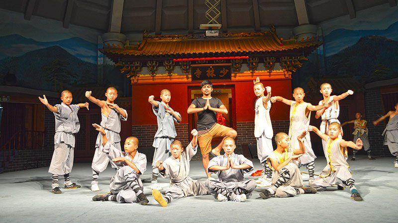 Kung fu show, Shaolin, China