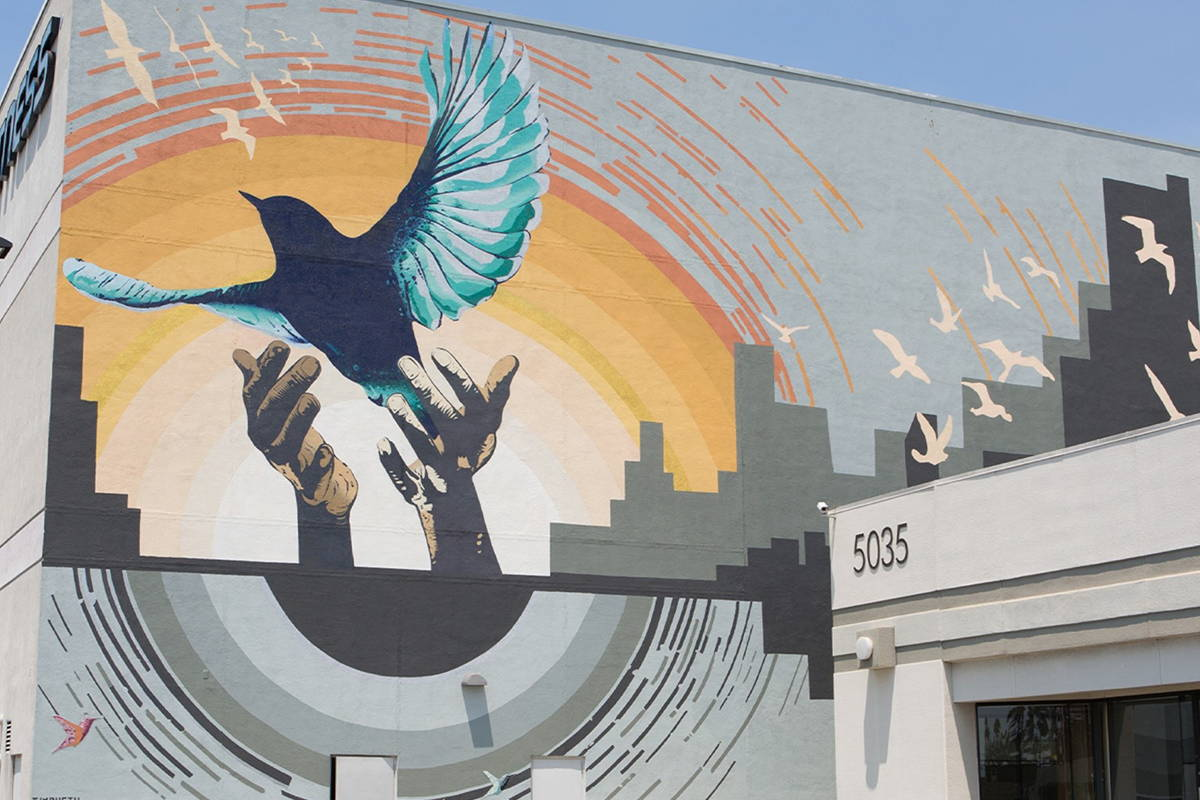 protecting and preserving mural