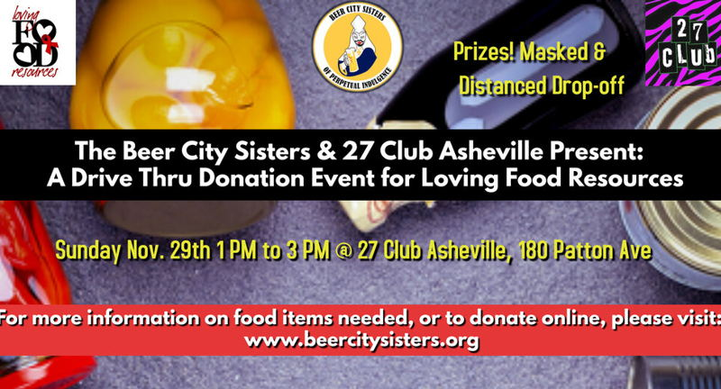 Beer City Sisters Food Donation Drive-Thru