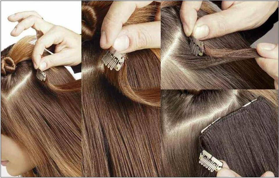 an example of how to use clips gva hair