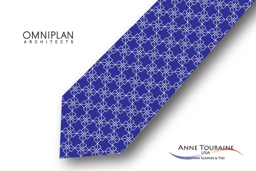 Geometric-patterned-custom-ties-design-style-blue