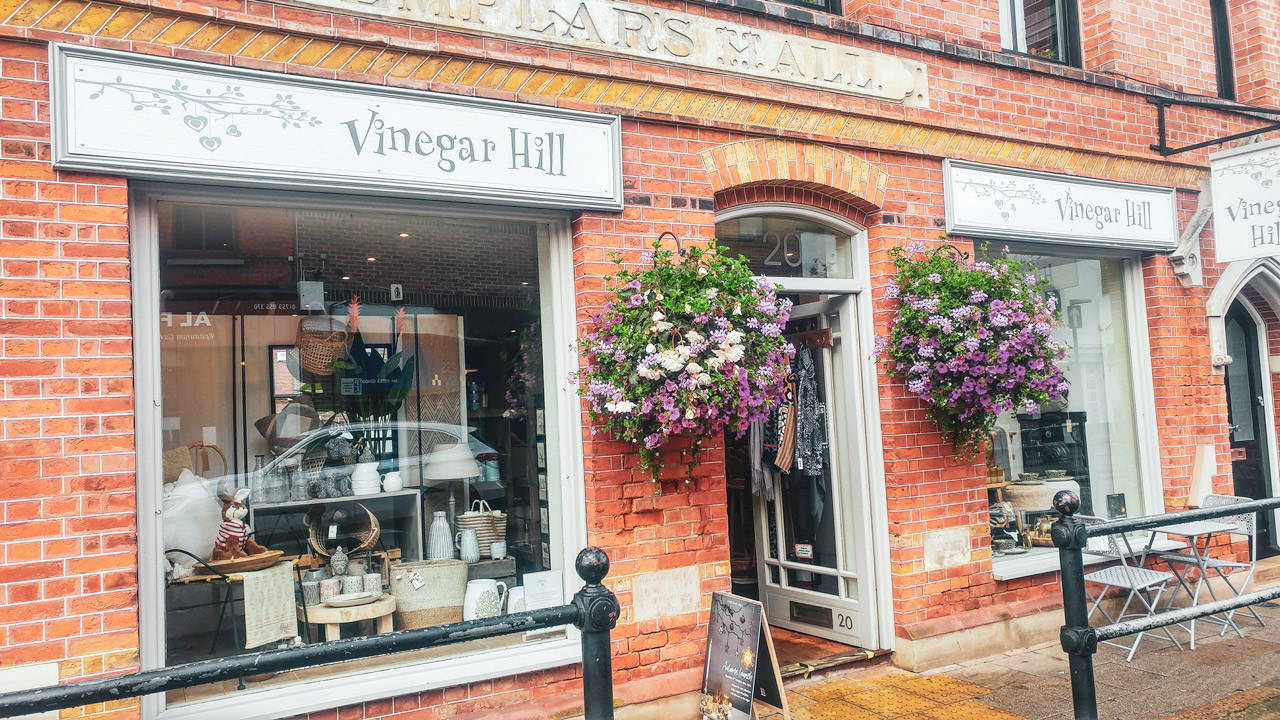 Outside the Store - Vinegar Hill Windsor