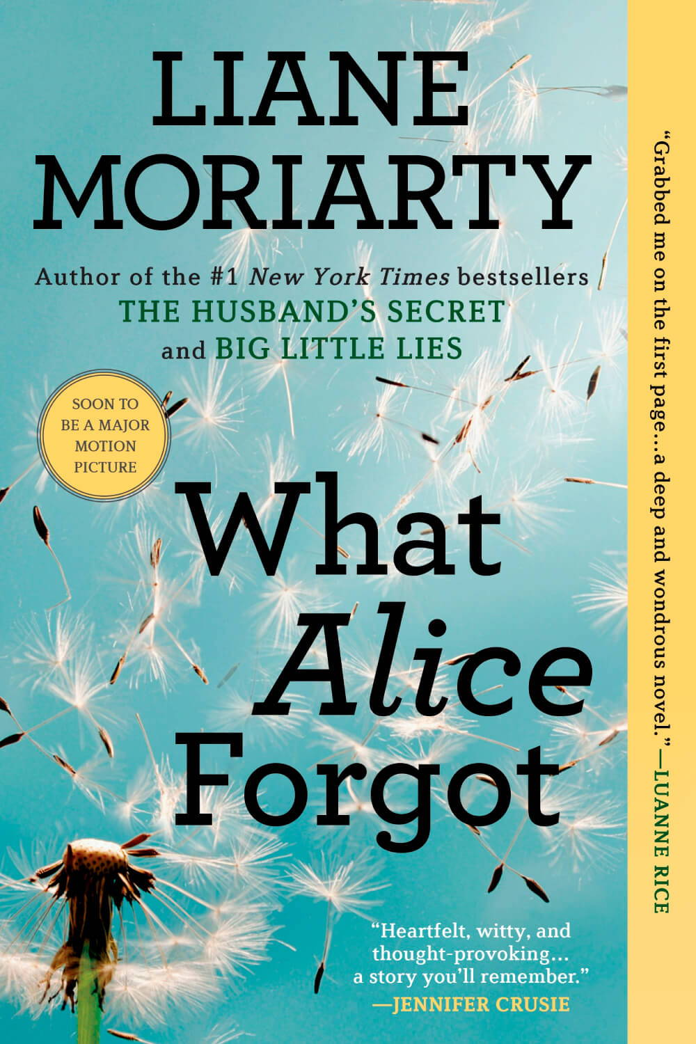 Summer Reading List 2018 what alice forgot book