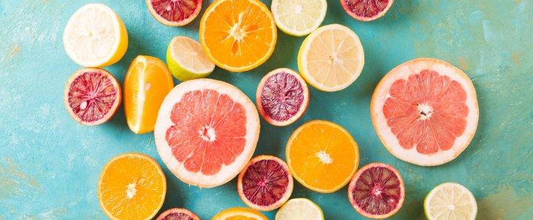 Citrus fruit as a source of vitamin C