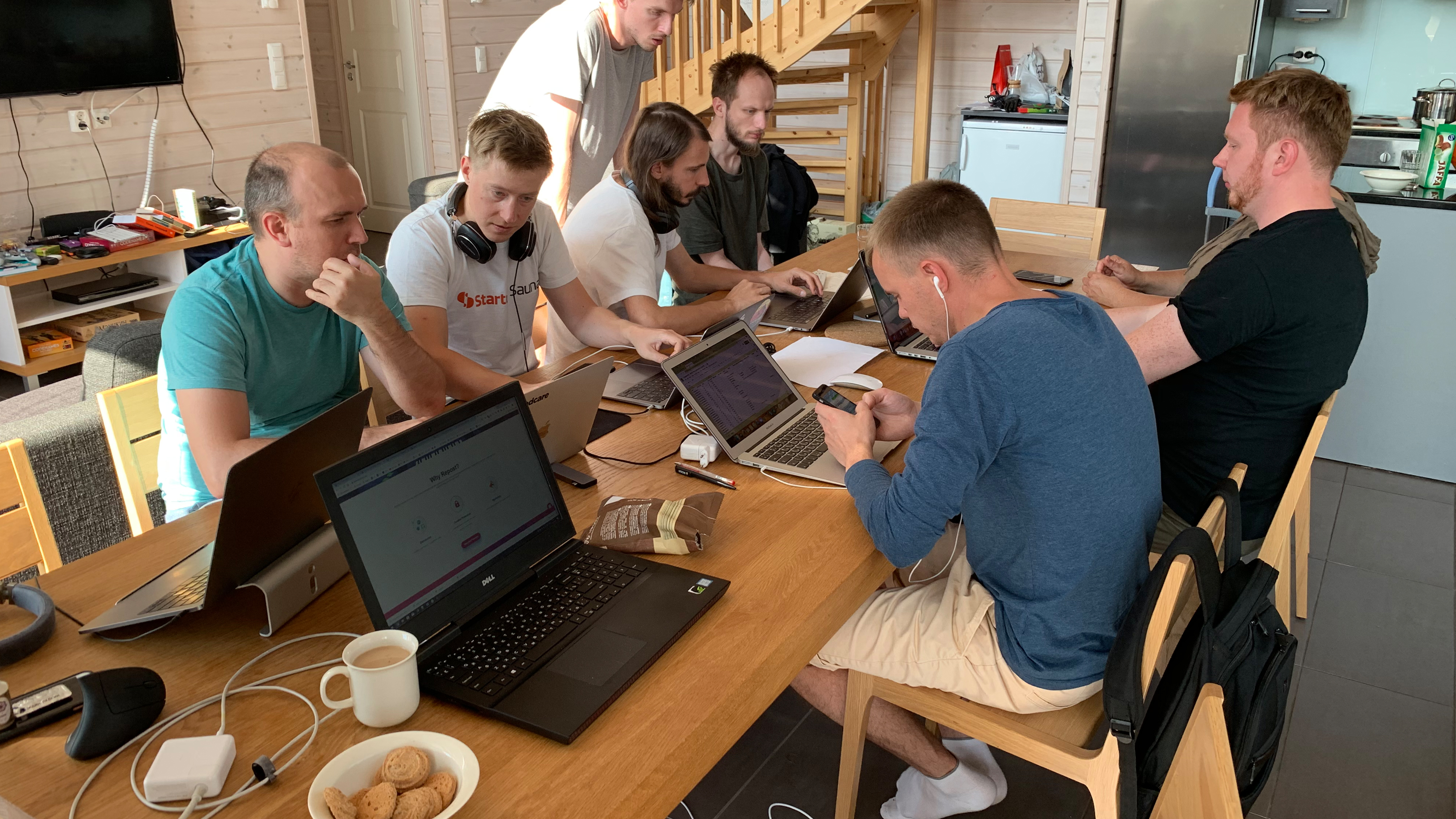 Uploadcare team meeting