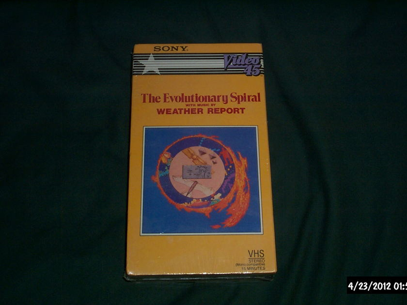 Weather Report - The Evolutionary Sprial Pre Recorded VHS SEALED