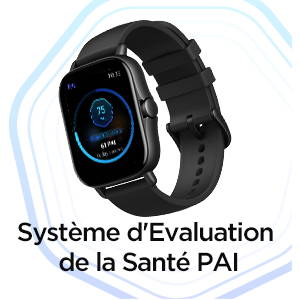 Amazfit GTS 2e - Système d'Evaluation de la Santé PAI