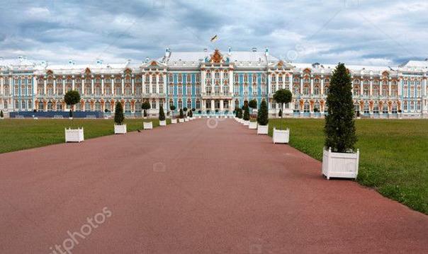Прогулка по Царскому Селу (город Пушкин)