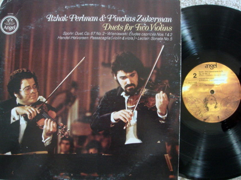 EMI Angel / PERLMAN-ZUKERMAN, - Duets for Two Violins,  VG+!
