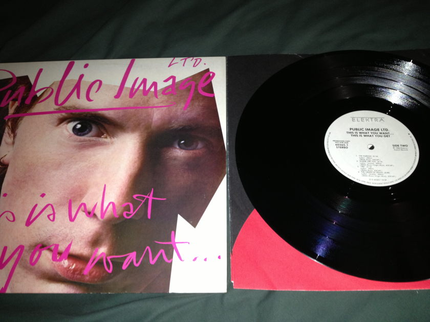 PIL - This Is What You Want This Is What You Get White Label Promo LP NM