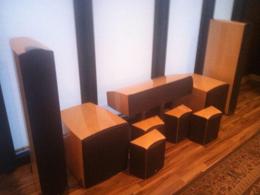 Paradigm Signature Speakers s8, c5, sigadp, sig servo