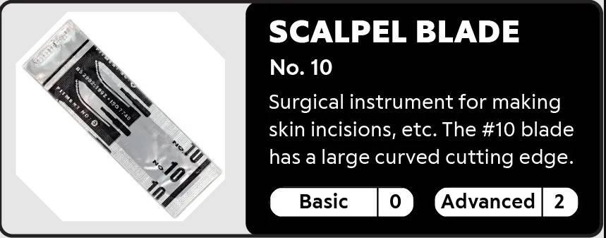 Scalpel Blade No. 10