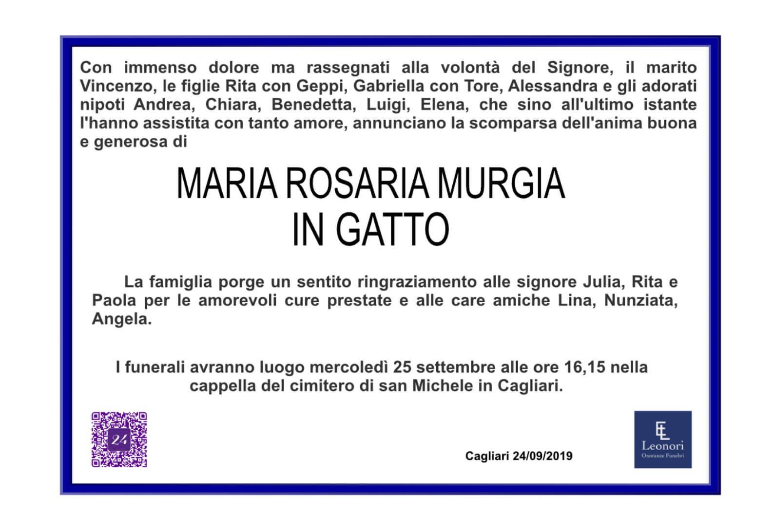 Maria Rosa Murgia