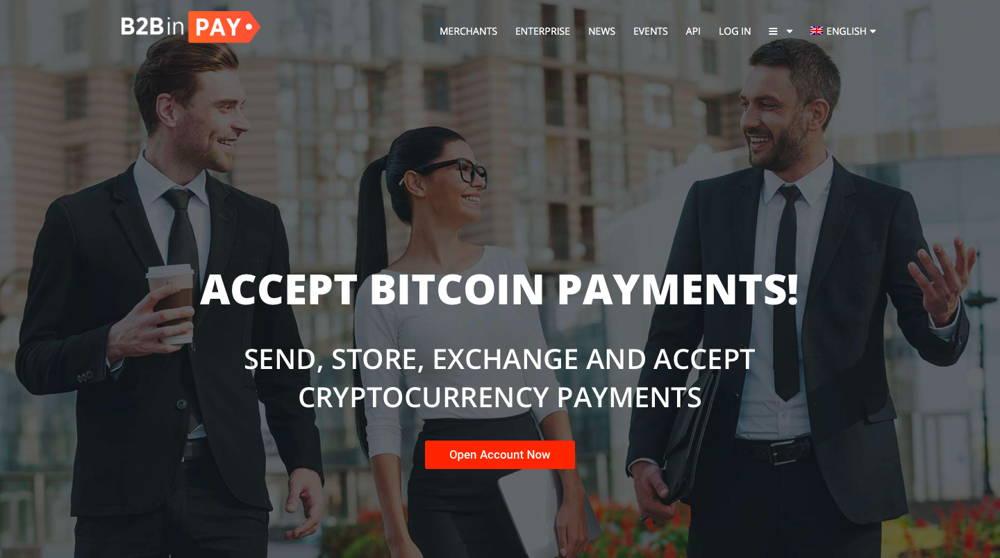 B2BinPay crypto payment gateway