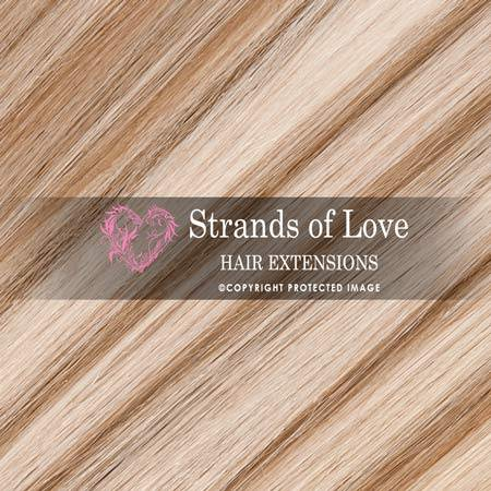 Strands Of Love Hair Extensions Colour Light Warm Highlight