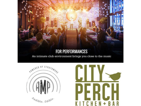 Strathmore AMP with City Perch Dinner
