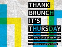THANK BRUNCH IT'S THURSDAY image