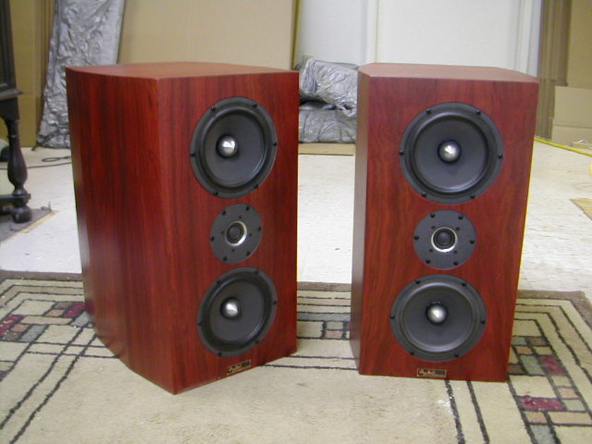Tyler Acoustics custom monitors in bloodwood! trade ins