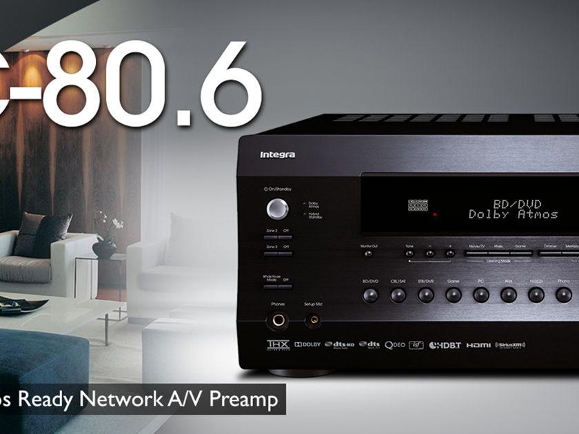 Integra  DHC 80.6 pre-amp black