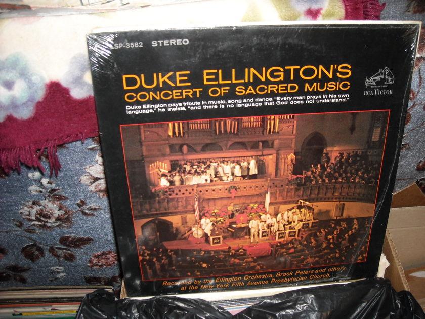 Duke Ellington's Concert Of - Sacred Music RCA  LP  (c)