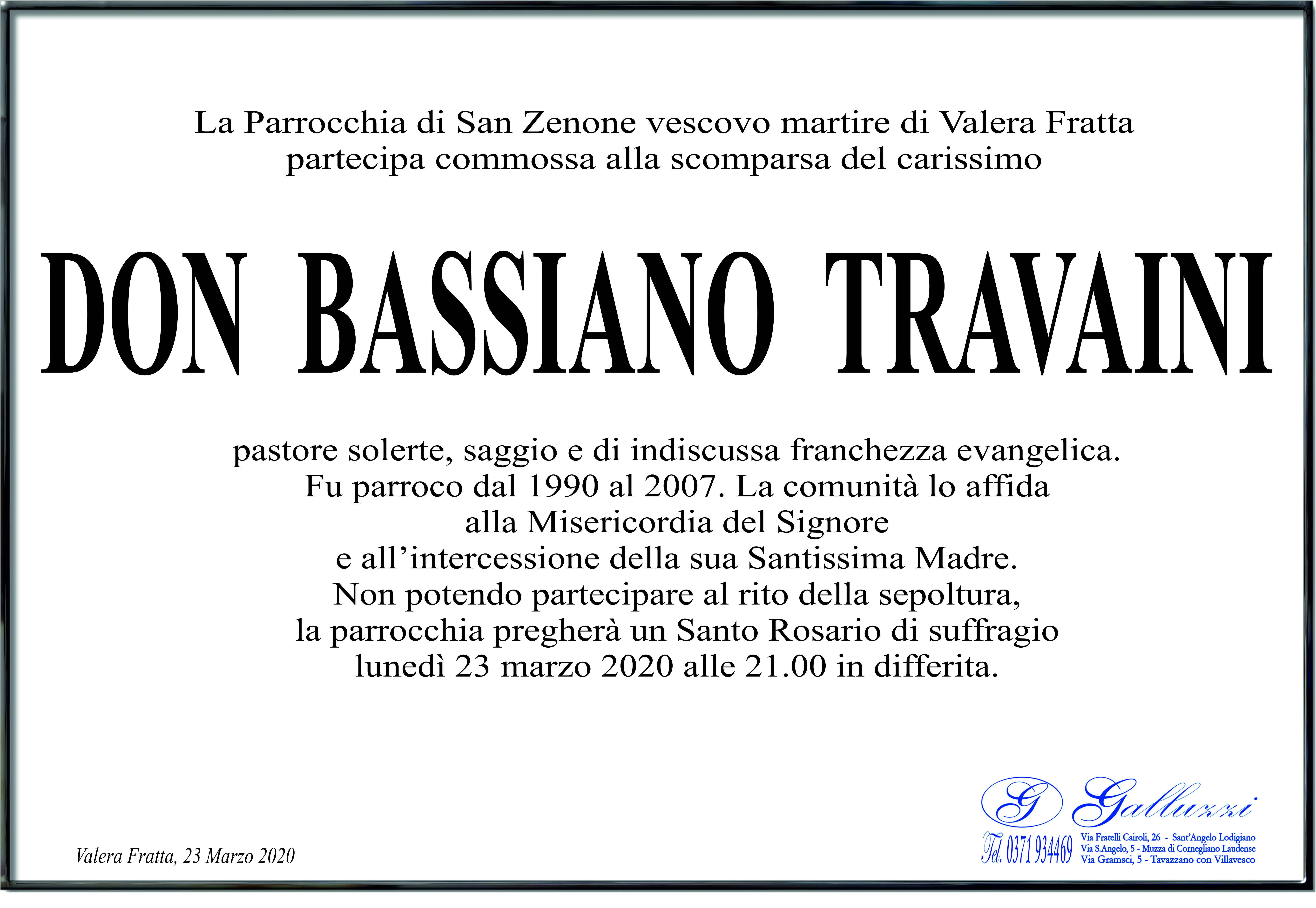 Don Bassiano Travaini