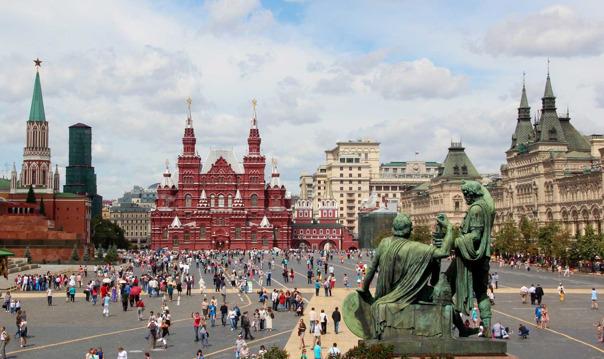 Московский Кремль (территория + 2 собора)