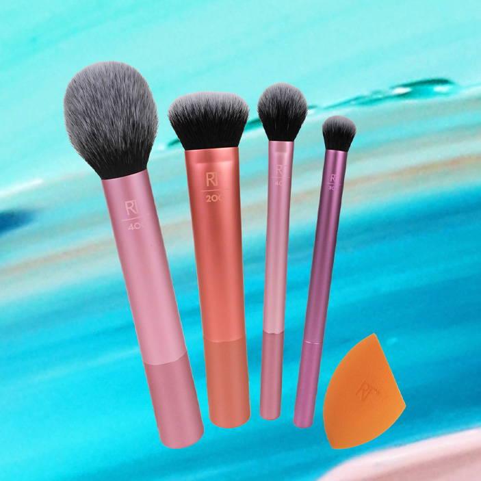 REAL TECHNIQUES Everyday Essentials Brush Set