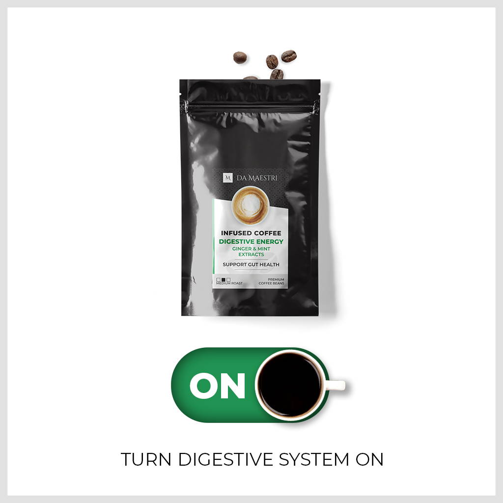 Superfood Infused Coffee With Organic Extract for Gourmets | Vegan, Keto and Paleo Friendly	COFFEE expertly infused with healthy organic extracts: sage, cinnamon, peppermint, turmeric, ginger. PICK YOURS NOW!	SUPERFOOD INFUSED COFFEE