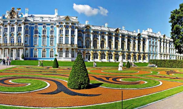 Пушкин без очередей: Екатерининский дворец, парк и Янтарная комната